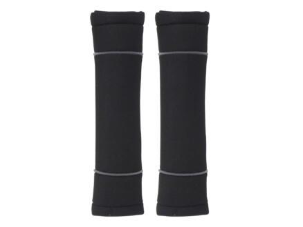 Carpoint Classic protège-ceinture set de 2 noir/gris