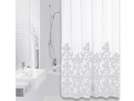 Differnz Classic rideau de douche 180x200 cm gris