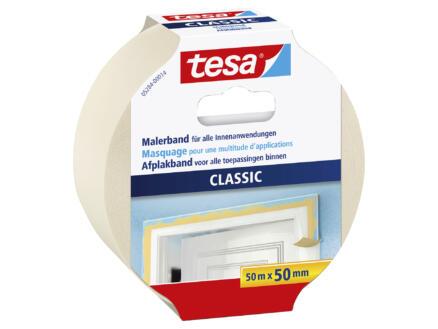Tesa Classic ruban de masquage 50m x 50mm beige
