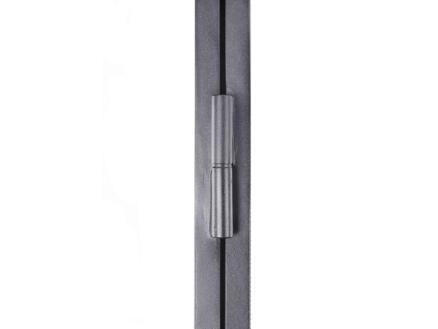 Solid Classico porte intérieure en acier gauche 4 vitrages 201x83 cm
