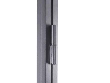 Solid Classico porte intérieure en acier gauche 6 vitrages 201x83 cm