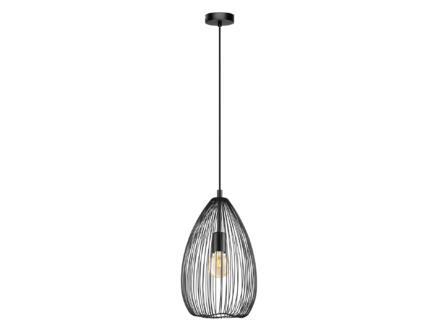 Eglo Clevedon hanglamp E27 max. 60W zwart