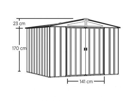 Clinton tuinhuis 313x370x198 cm
