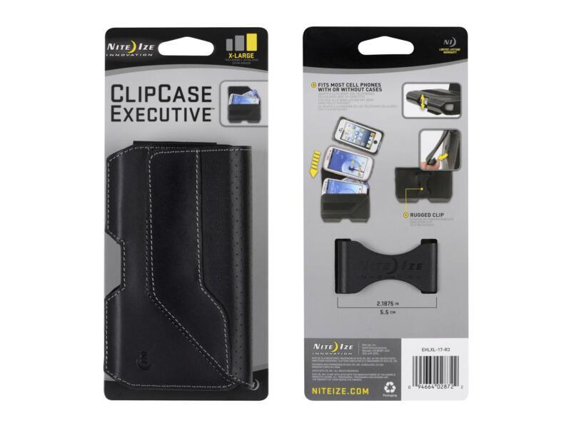 Nite Ize Clip Case Executive XL gsm-tasje horizontaal zwart