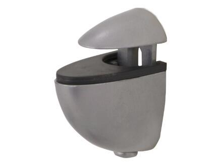 Clip mini 4-20 mm aluminium 2 pièces