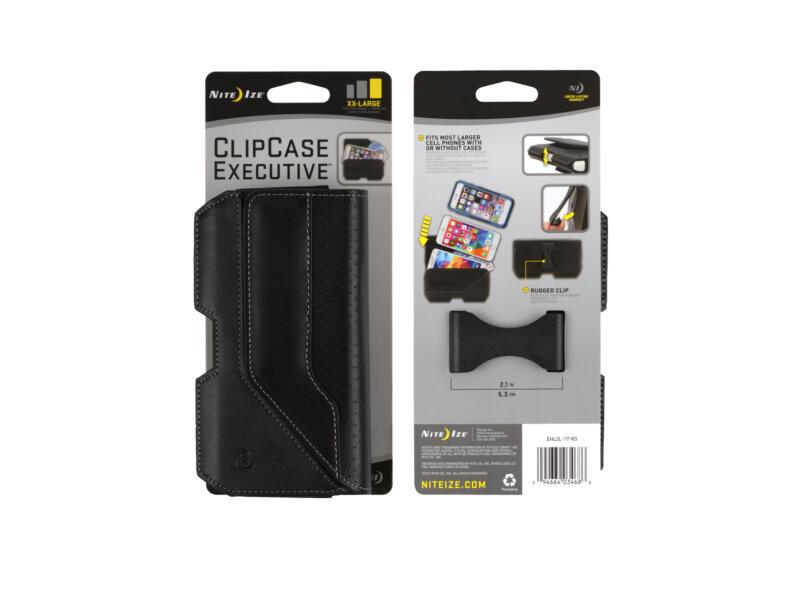 Nite Ize ClipCase Executive XXL gsm-tasje horizontaal zwart