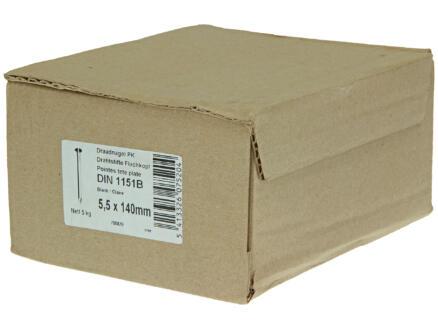 Clous à tête plate 5,5x140 mm 5kg