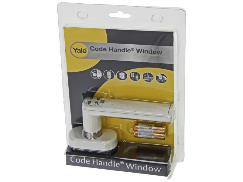 Yale Code Handle deur- en raamklink slot wit