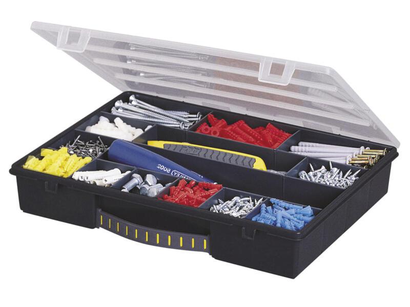 Stanley Coffret à compartiments 33x25,4x5,6 cm 14 compartiments
