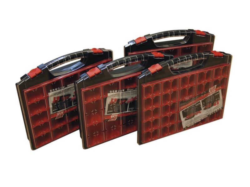 TAYG Coffret à compartiments 43x37x5,5 cm 25 compartiments