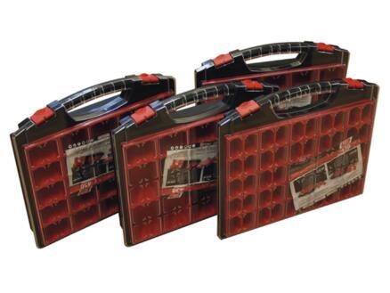 TAYG Coffret à compartiments 43x37x5,5 cm 50 compartiments