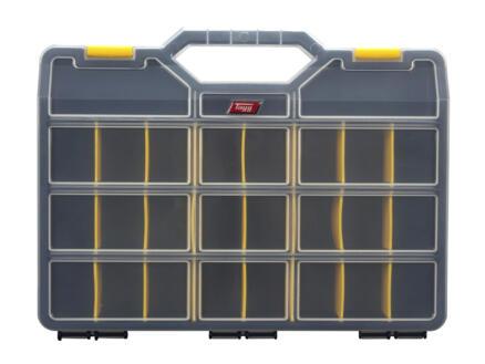 TAYG Coffret à compartiments 46x35x8,1 cm 22 compartiments