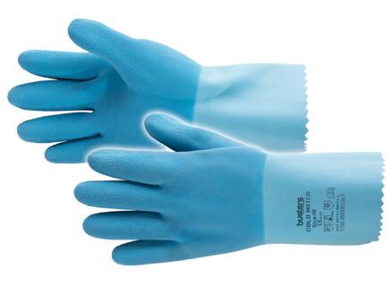 Busters Cold Water werkhandschoenen M latex blauw