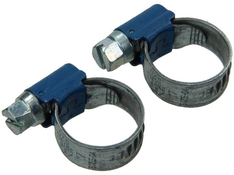 Collier de serrage galvanisé 11x17 mm 2 pièces
