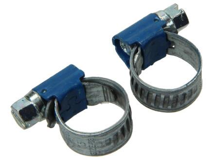 Collier de serrage galvanisé 8x14 mm 2 pièces