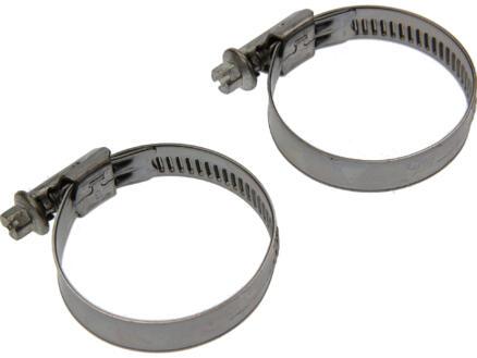 Collier de serrage inox 12mm 32x50 mm 2 pièces