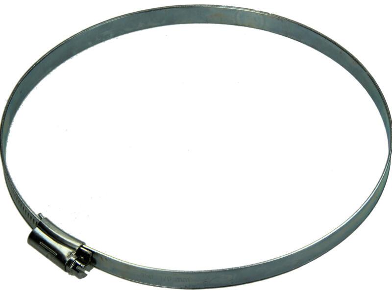 Collier de serrage zingué 150x170 mm