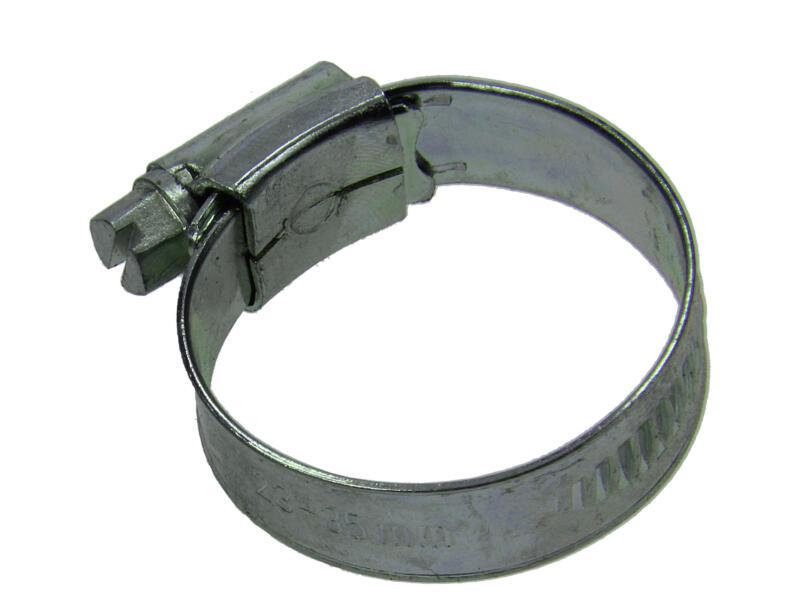 Collier de serrage zingué 23x35 mm