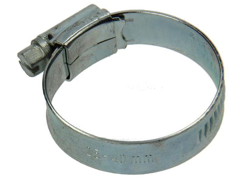 Collier de serrage zingué 25x40 mm