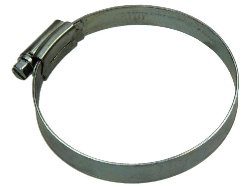 Collier de serrage zingué 60x80 mm