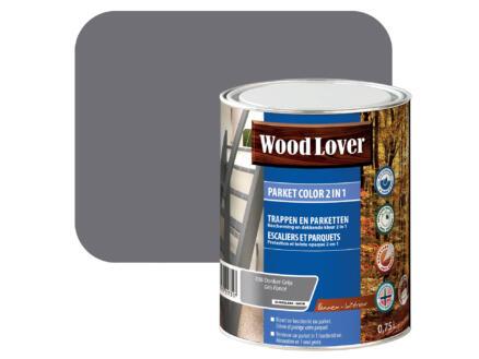 Wood Lover Color 2-in-1 parket 0,75l donker grijs #038