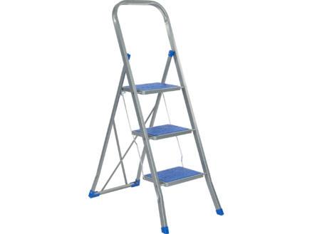 Escalo Color Step keukentrap 3 treden blauw