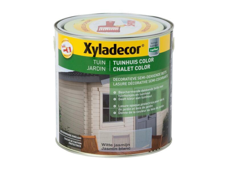 Xyladecor Color houtbeits tuin 2,5l jasmijn