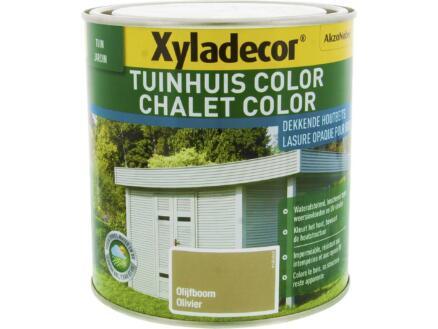 Xyladecor Color houtbeits tuinhuis 1l olijfboom