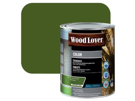 Wood Lover Color houtbeits tuinhuis 2,5l dennen groen