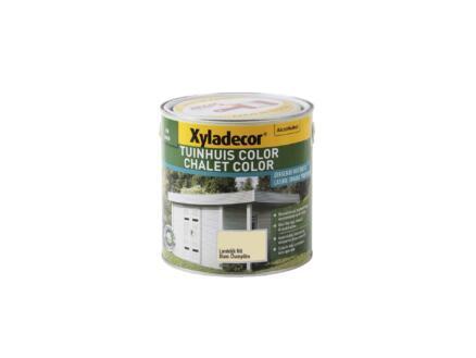 Xyladecor Color houtbeits tuinhuis 2,5l landelijk wit