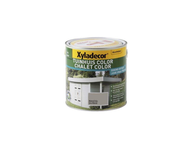 Xyladecor Color houtbeits tuinhuis 2,5l mistral grijs
