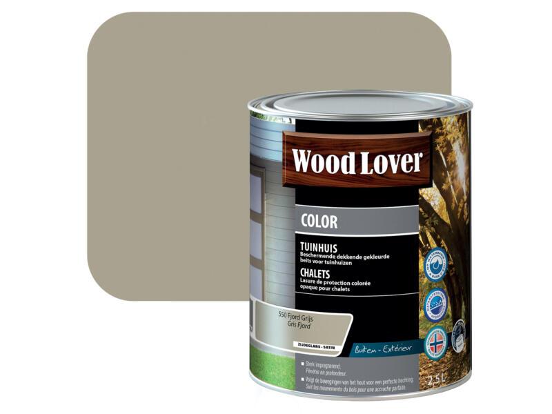 Wood Lover Color lasure bois chalet 2,5l gris fjord