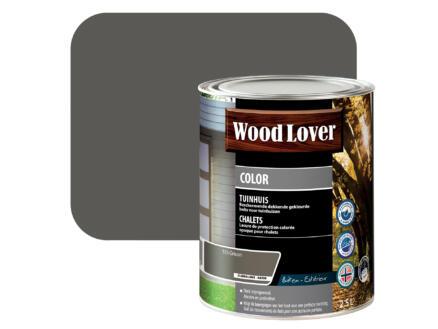 Wood Lover Color lasure bois chalet 2,5l grison
