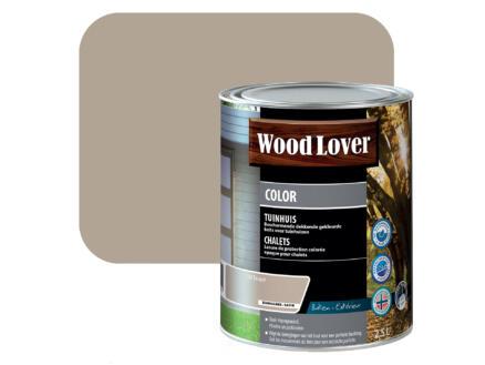 Wood Lover Color lasure bois chalet 2,5l taupe #530