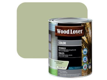 Wood Lover Color lasure bois chalet 2,5l vert toundra #560
