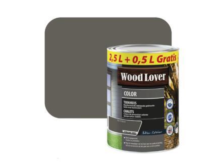 Wood Lover Color lasure bois chalet 3l grison #555