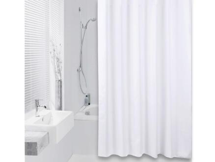 Differnz Color rideau de douche 120x200 cm blanc