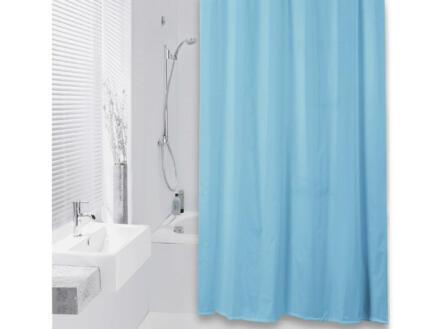 Differnz Color rideau de douche 180x200 cm azur