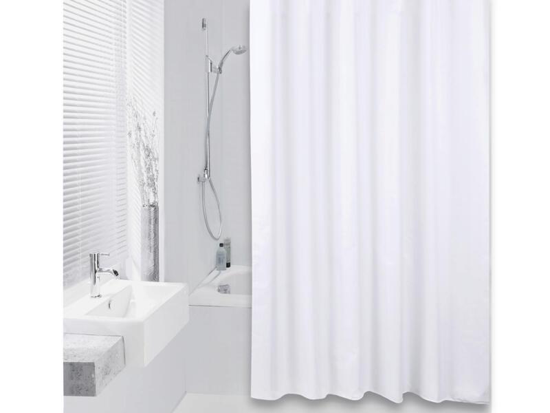 Differnz Color rideau de douche 180x200 cm blanc