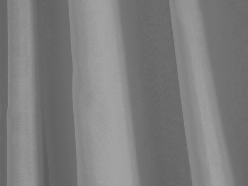 Differnz Color rideau de douche 180x200 cm gris