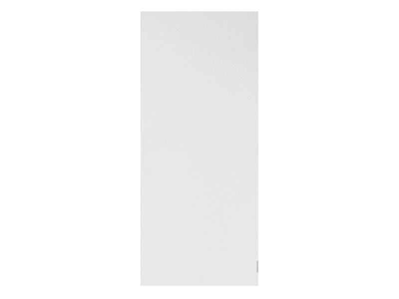 Solid Colore porte intérieure 201x63 cm prépeint sans entaillage