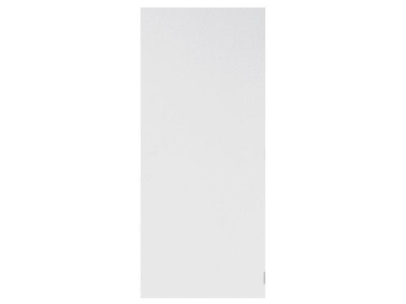 Solid Colore porte intérieure 201x68 cm prépeint sans entaillage
