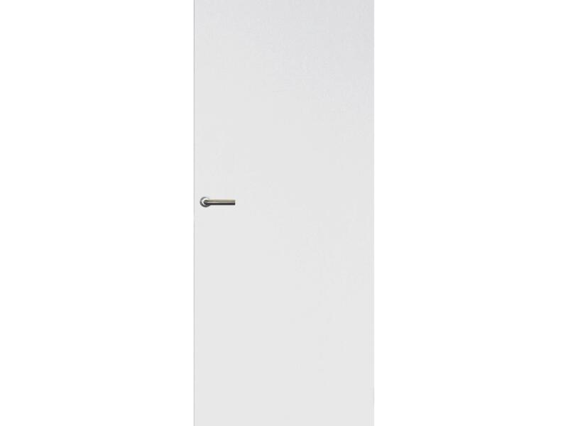 Solid Colore porte intérieure 201x68 cm prépeint