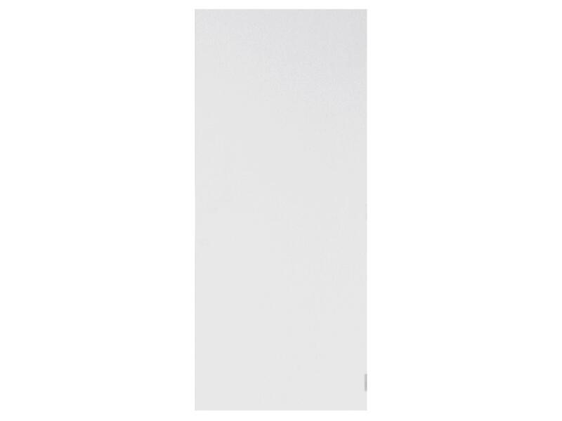 Solid Colore porte intérieure 211x63 cm prépeint sans entaillage
