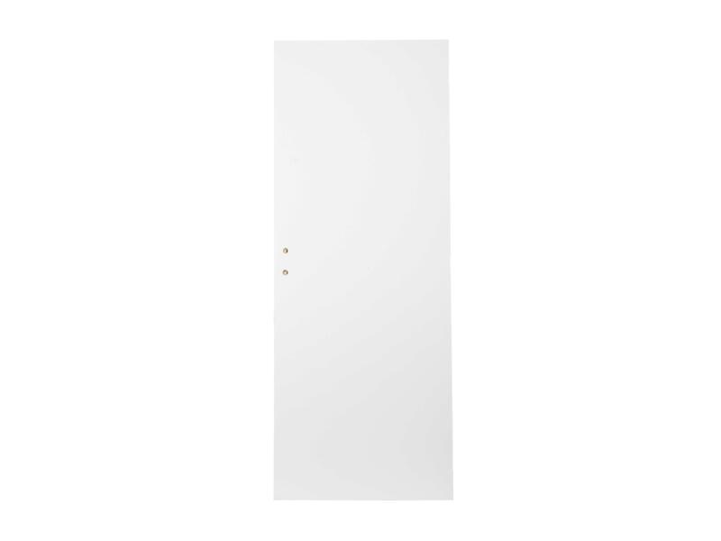 Solid Colore porte intérieure 211x63 cm prépeint
