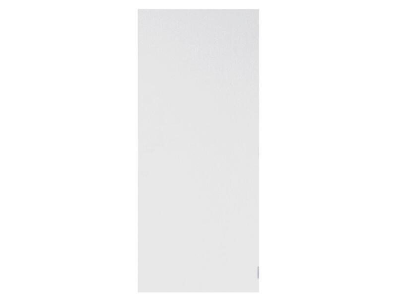 Solid Colore porte intérieure 211x78 cm prépeint sans entaillage
