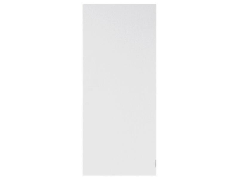Solid Colore porte intérieure coupe-feu 211x68 cm prépeint sans entaillage