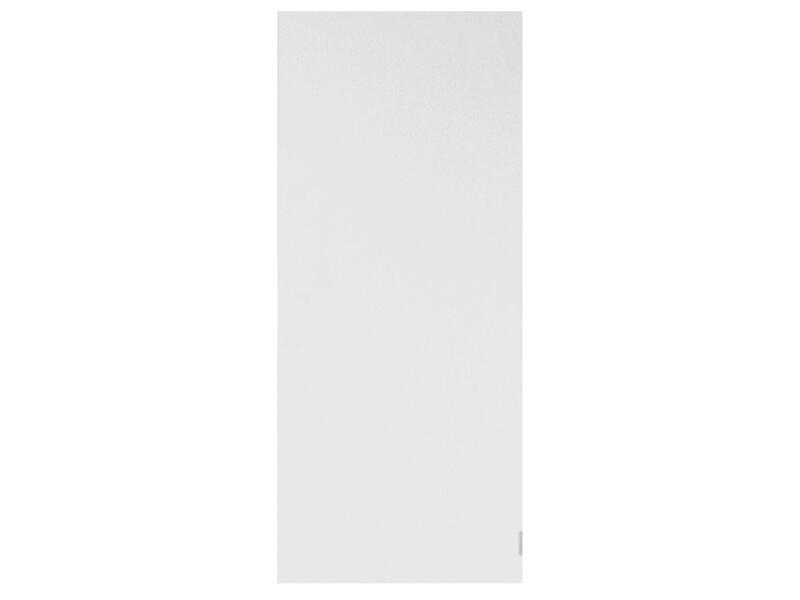 Solid Colore porte intérieure coupe-feu 211x88 cm prépeint sans entaillage