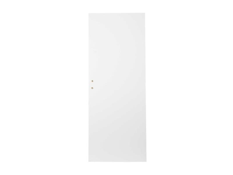 Solid Colore porte intérieure tubulaire 201,5x73 cm prépeint