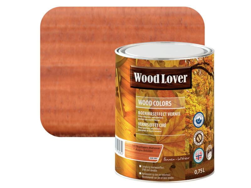 Wood Lover Colors protection du bois 0,75l acajou Brésilien #145